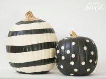#10: http://sincerelysarad.com/unique-ways-to-decorate-pumpkins/